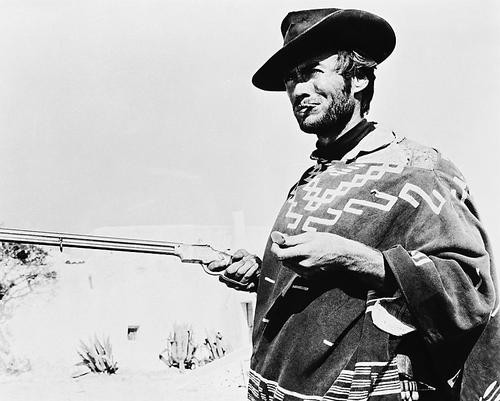 This is an image of 161358 Clint Eastwood Photograph & Poster