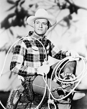 This is an image of 161482 Gene Autry Photograph & Poster