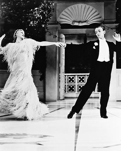 This is an image of 162002 Fred Astaire & Ginger Rogers Photograph & Poster