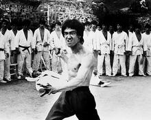 This is an image of 162848 Bruce Lee Photograph & Poster
