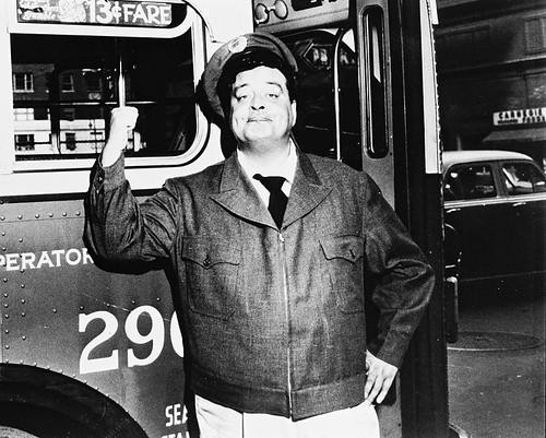 This is an image of 162983 Jackie Gleason Photograph & Poster
