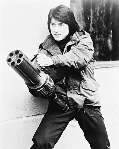 This is an image of 163129 Jackie Chan Photograph & Poster