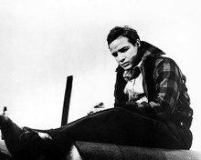 This is an image of 165070 Marlon Brando Photograph & Poster