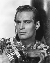 This is an image of 165104 Charlton Heston Photograph & Poster