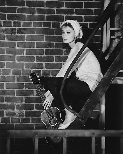 This is an image of 165314 Audrey Hepburn Photograph & Poster
