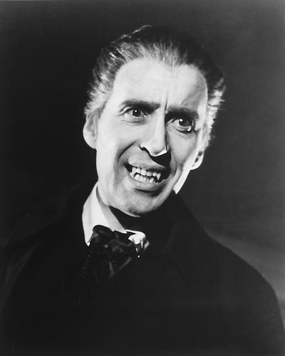 This is an image of 165523 Christopher Lee Photograph & Poster