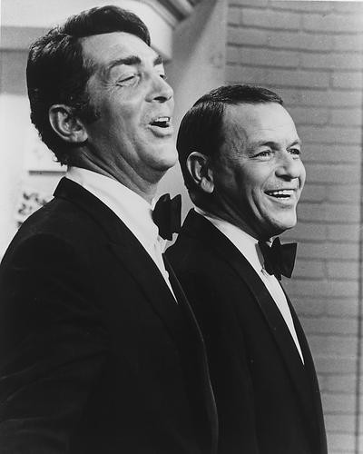 This is an image of 165559 Frank Sinatra & Dean Martin Photograph & Poster