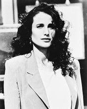 This is an image of 166086 Andie Macdowell Photograph & Poster