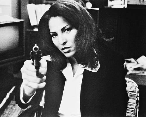 This is an image of 166806 Pam Grier Photograph & Poster