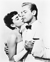 This is an image of 166924 Audrey Hepburn & William Holden Photograph & Poster
