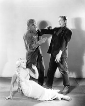 This is an image of 193975 Abbott and Costello Meet Frankenstein Photograph & Poster