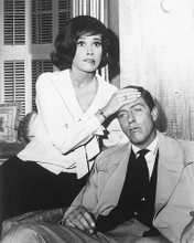 This is an image of 174306 Dick Van Dyke & Mary Tyler Moore Photograph & Poster
