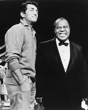 This is an image of 172526 Louis Armstrong & Dean Martin Photograph & Poster