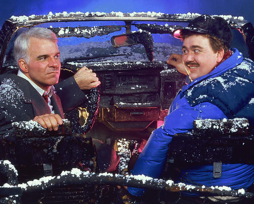 This is an image of 255364 Steve Martin & John Candy Photograph & Poster