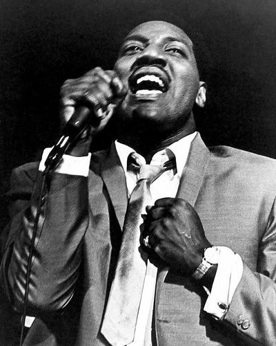 This is an image of 193575 Otis Redding Photograph & Poster