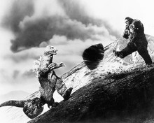 This is an image of 193612 King Kong Vs. Godzilla Photograph & Poster