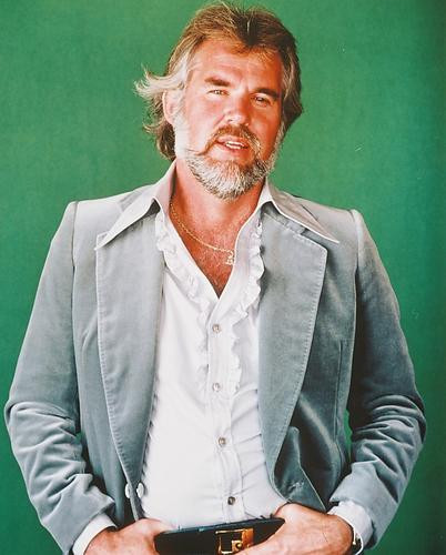 This is an image of 231553 Kenny Rogers Photograph & Poster