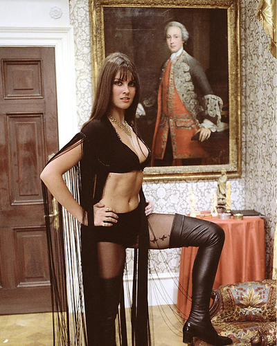 This is an image of 280706 Caroline Munro Photograph & Poster