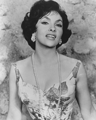 This is an image of 190305 Gina Lollobrigida Photograph & Poster