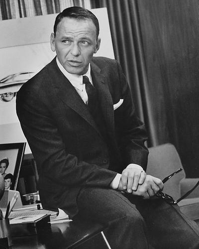 This is an image of 190321 Frank Sinatra Photograph & Poster
