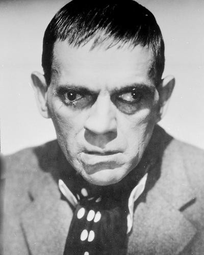 This is an image of 190438 Boris Karloff Photograph & Poster