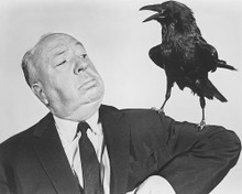 This is an image of 190460 Alfred Hitchcock Photograph & Poster