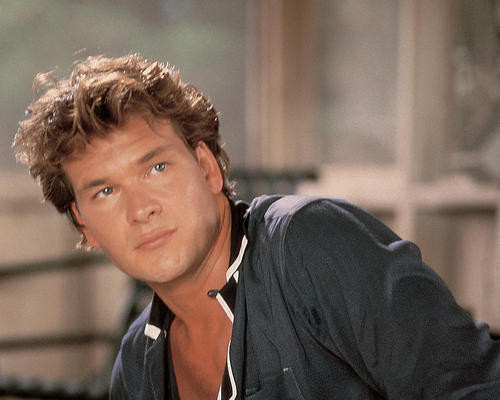 This is an image of 281077 Patrick Swayze Photograph & Poster