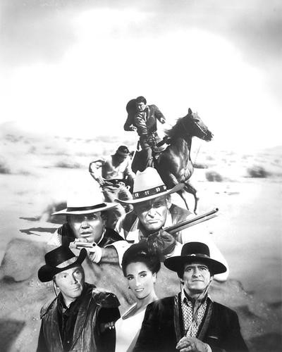 This is an image of 191186 The High Chaparral Photograph & Poster