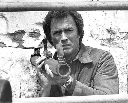This is an image of 191211 Clint Eastwood Photograph & Poster