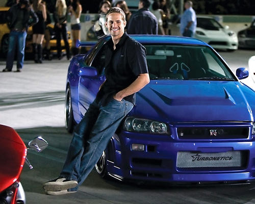 This is an image of 281459 Paul Walker Photograph & Poster