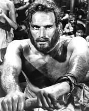 This is an image of 191415 Charlton Heston Photograph & Poster