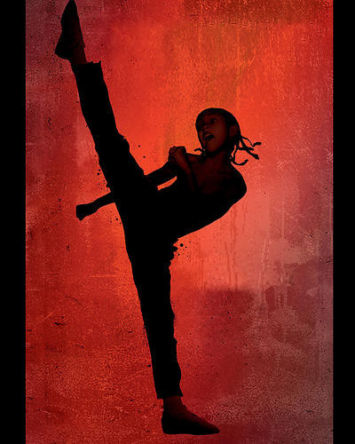 This is an image of 281781 The Karate Kid 2010 Photograph & Poster