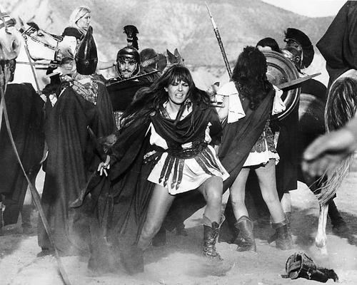 This is an image of 192209 Lucy Lawless Photograph & Poster
