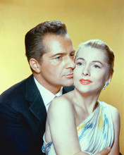 This is an image of 238380 Rossano Brazzi & Joan Fontaine Photograph & Poster
