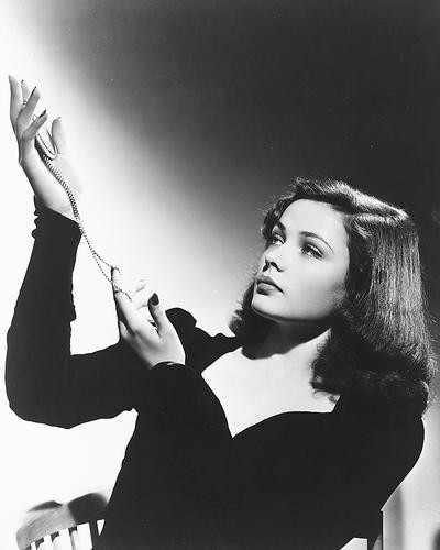 This is an image of 170773 Gene Tierney Photograph & Poster