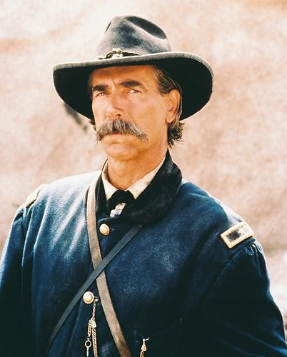 This is an image of 214069 Sam Elliott Photograph & Poster