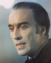 This is an image of 216564 Christopher Lee Photograph & Poster