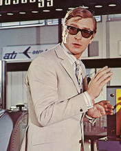 This is an image of 224799 Michael Caine Photograph & Poster