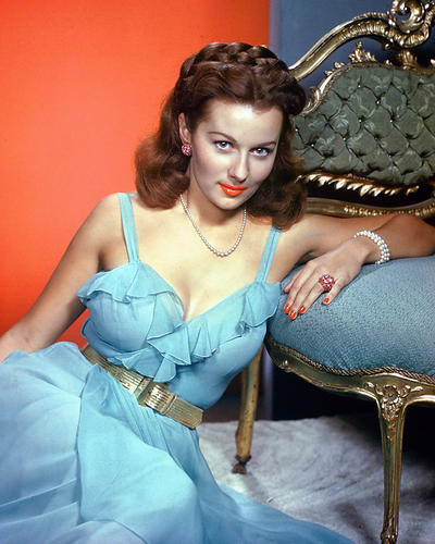 This is an image of 226599 Rhonda Fleming Photograph & Poster