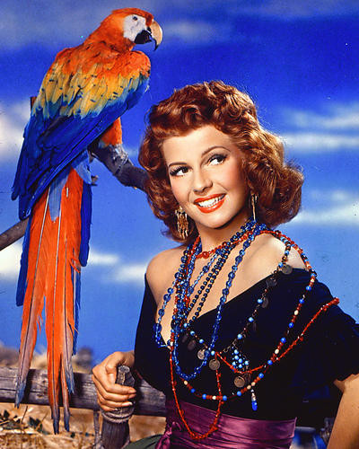 This is an image of 226832 Rita Hayworth Photograph & Poster