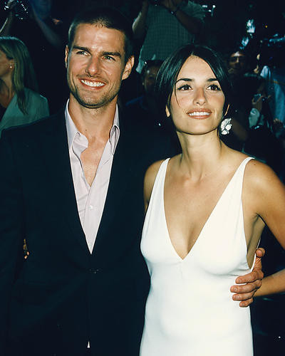 This is an image of 248420 Tom Cruise & Penelope Cruz Photograph & Poster