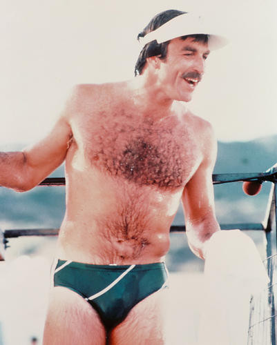 This is an image of 218448 Tom Selleck Photograph & Poster