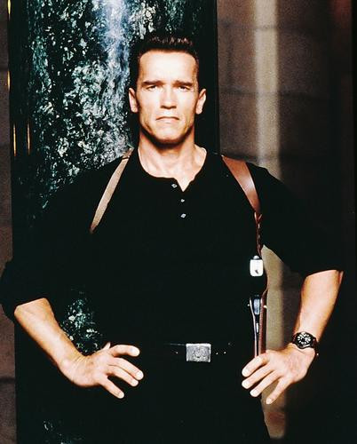 This is an image of 220727 Arnold Schwarzenegger Photograph & Poster
