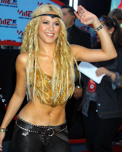 This is an image of 250408 Shakira Photograph & Poster