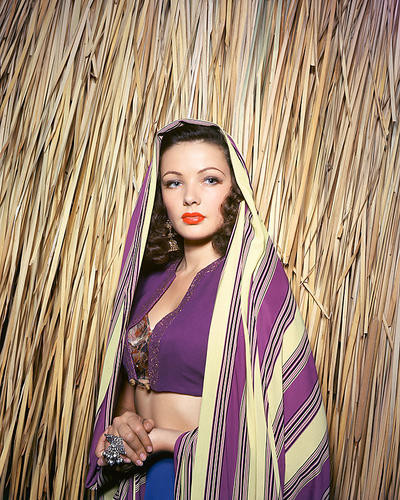 This is an image of 251362 Gene Tierney Photograph & Poster