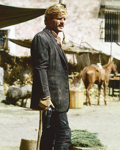 This is an image of 252100 Robert Redford Photograph & Poster