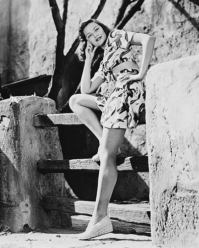 This is an image of 168031 Gene Tierney Photograph & Poster
