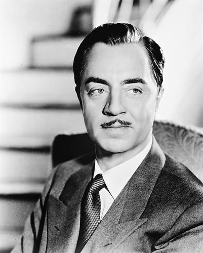 This is an image of 168344 William Powell Photograph & Poster