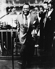 This is an image of 168393 Louis Armstrong Photograph & Poster