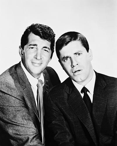 This is an image of 168467 Dean Martin & Jerry Lewis Photograph & Poster